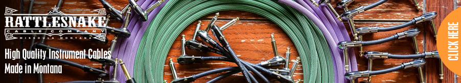 Rattlesnake Cable Company - High Quality Instrument Cables - Made in Montana